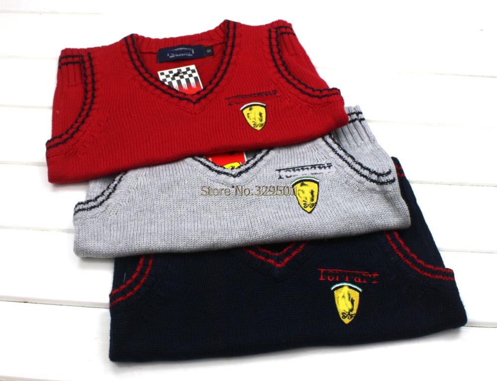 Free shipping 2014 Spring Children sweater vest,kids cotton vest,cardigans,baby brand sweater, boys vest,knitter clothes5pcs/lot<br><br>Aliexpress