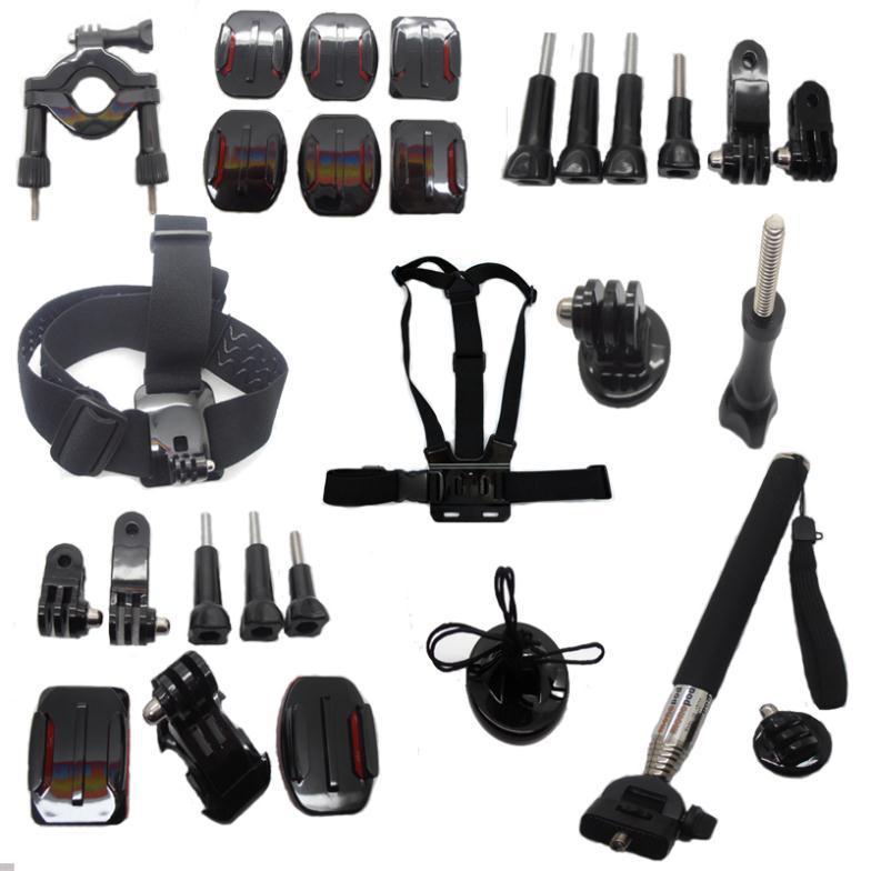 Promotion Sale !! Go pro Accessories Kit Gopro mounts Accessories for Hero 2 3 4 gopro accessories Free shipping<br><br>Aliexpress