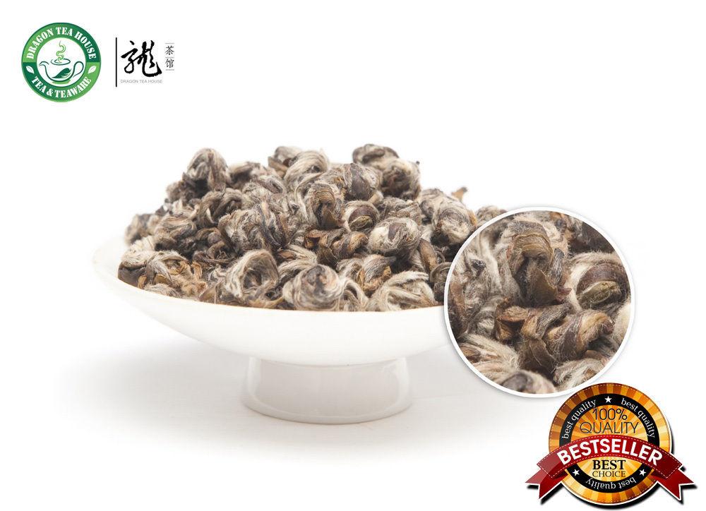 Фотография Imperial Organic Jasmine Bai Hao Yin Zhen Handmade Silver Needle Pearl White Tea 500g