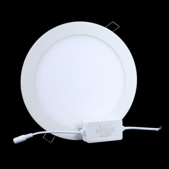 18W Panel Light 1600LM Round LED Ceiling Light/ Wall Light Pure White(China (Mainland))