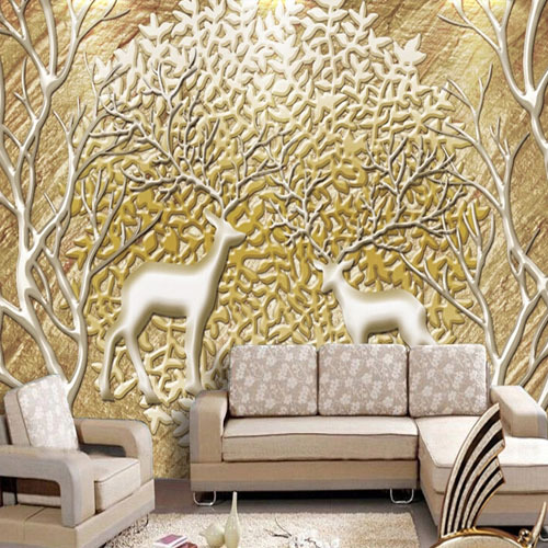 Buy customized large abstract photo mural for 3d customized wallpaper