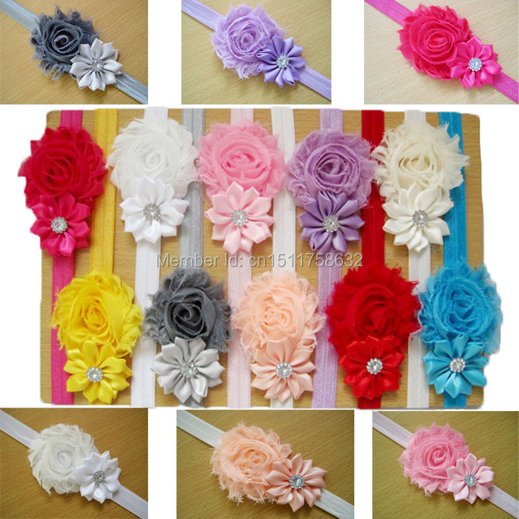 Baby Children Flower Pearl Infant Toddler Girl Headband Clips Hairband Hair Band Accessories(China (Mainland))