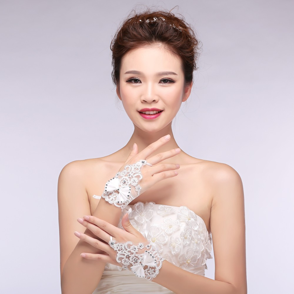 Свадебные перчатки Bridal Gloves