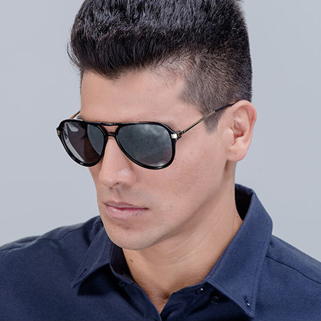 Hot Gradient Aviator Sunglasses Men UV400 Fashion 2015 Mirror Pilot Sun Glasses Men Eyewear Multicolor Lentes