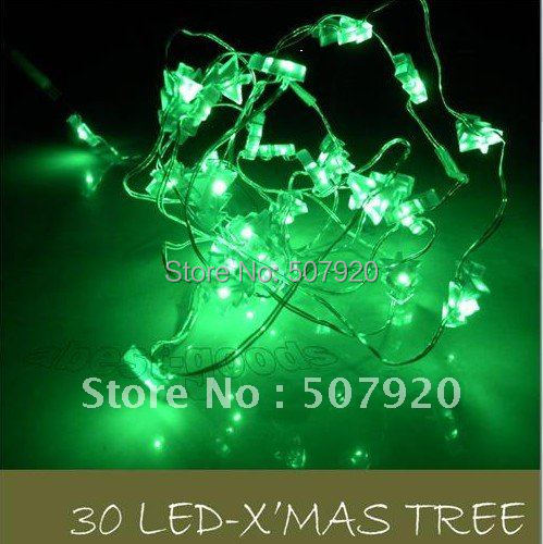 How To String Mini Lights On A Christmas Tree : 30-led-Fairy-lights-30LED-string-mini-Battery-box-String-Lights-Decoration-string-lights ...