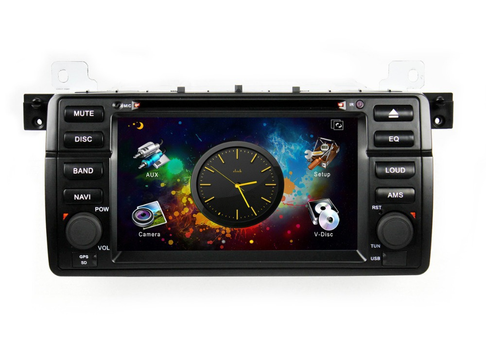 Q0139A+Q0140D 1Din 7inch Android 4.0 Car DVD Player 3D UI PIP IPOD DVB-T GPS CANBUS BT Radio 1GB DDR3 for BMW E46 M3(China (Mainland))
