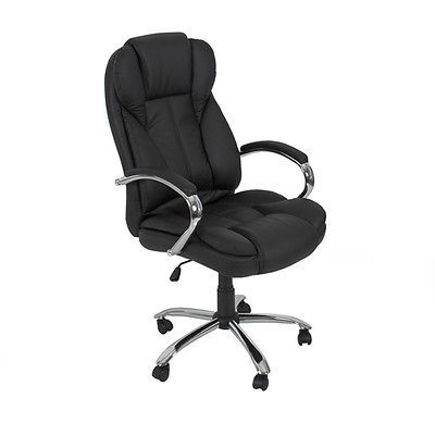 Metal Base for Computer Desk PU Leather High Back Executive Office Task Chair(China (Mainland))