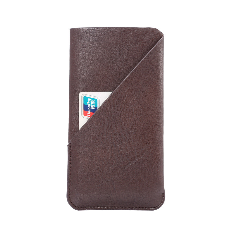 New Fashion Credit Card Holder Bag Leather Phone Case for Alcatel Pop 3 5025d 5054d Cases Cover Cell Phone Accessories 4 Colors