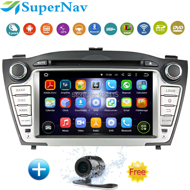 Quad Core Android Car DVD Player Fit Hyundai TUCSON ix35 2009 2010 2011 2012 In-dash Navigation GPS With 3G Radio free Map(China (Mainland))