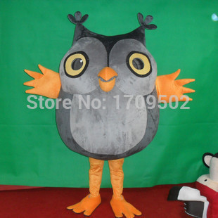 High Quality Owl Adult plush mascot costume for festive & party supplies kigurumi disfraces fancy dress anime cosplay(China (Mainland))