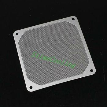 100pcs set 12CM Stainless Metal Computer 120MM Dustproof Dust Filter Fan Strainer GDT-S12CM-100