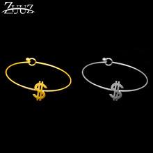 Gra słów mankietów bransoletki bransoletki ze stali nierdzewnej moda bransoletka metal srebrny złoty akcesoria biżuteria dziewczyna charms, minimalistyczne luksusowe(China)