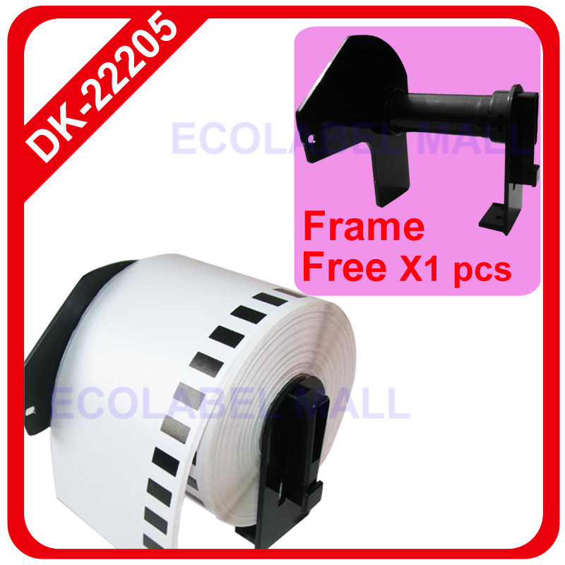 60x rolls DK-22205 brother compatible Continuous Labels(China (Mainland))