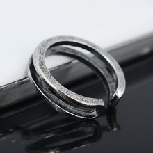Wholesale 12Pcs Celebrity Fashion Simple Sliver Plated Retro Carved Flower Toe Ring Foot Jewelry