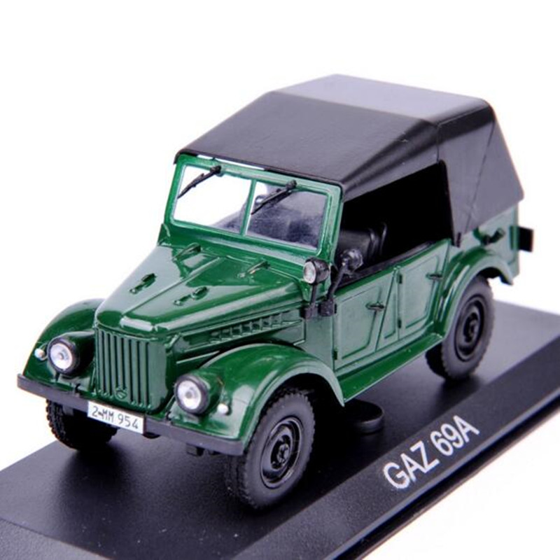 GAZ 69A Model 1:43 Scale Altaya Jeep Diecast Model Car Toys Collection Gift For New Year Christmas(China (Mainland))