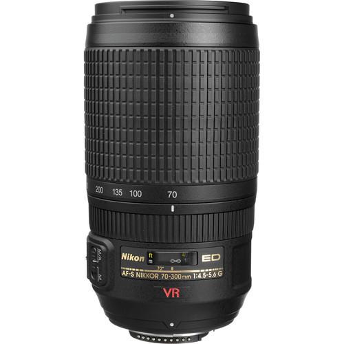 Nikon 70-300mm f/4.5-5.6G ED-IF AF-S VR Vibration Lens Professional Nikkor Dslr Lenses<br><br>Aliexpress