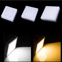 Led Panel Light Surface Mounted Led Downlight lighting Led ceiling down spotlight 110-240V + Drivers<br><br>Aliexpress