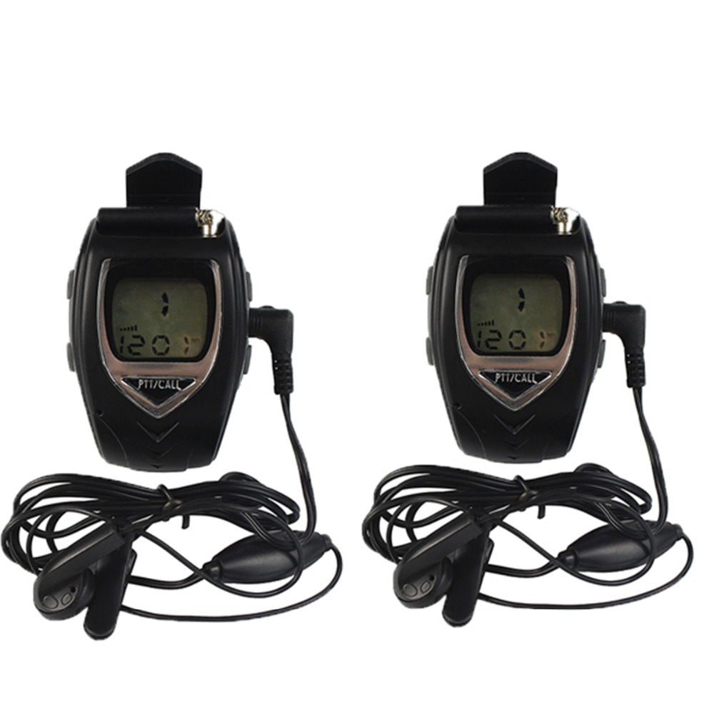A Pair FREETALKER Watch Walkie Talkie RD-018 Black 0.5W 22CH VOX Scan for Kid Lovers Portable Mini Radio A7226A(China (Mainland))