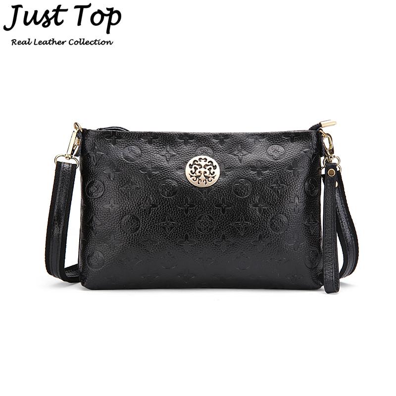 Гаджет  2014 Women Leather Handbag Fashion Embossed Handbag Women Messenger Bags Sequined Bag Genuine Leather Handbags Cross Body Bags None Камера и Сумки