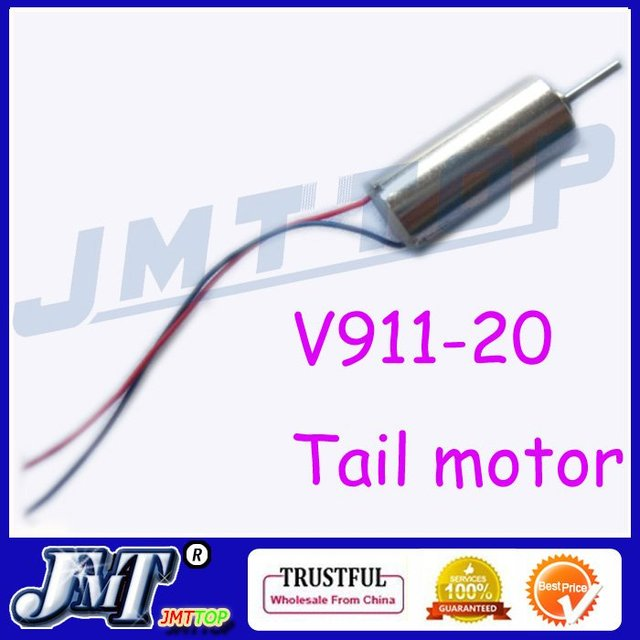 Wholesale F02133 V911-20 Tail motor For mini 4ch WL V911 RC Helicopter + FS