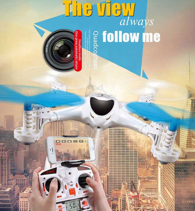 MJX X300 4CH rc quadcopter with HD camera supports iphone WIFI, professional FPV rc drone with real-time transmission camera hd(China (Mainland))