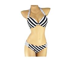 New 2015 Bikini Swimwear Women Leopard Swimsuit Bikinis Set Sexy Push Up Swimwears Vintage 2 colors Bathing Suits Wholesale(China (Mainland))