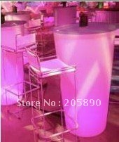 LED lighting furniture LED bar table