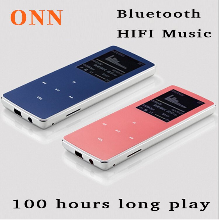 ONN W6 bluetooth mp3 8GB memory card player with voice recorder/e-books/FM radio/video/photo viewer/clock(China (Mainland))