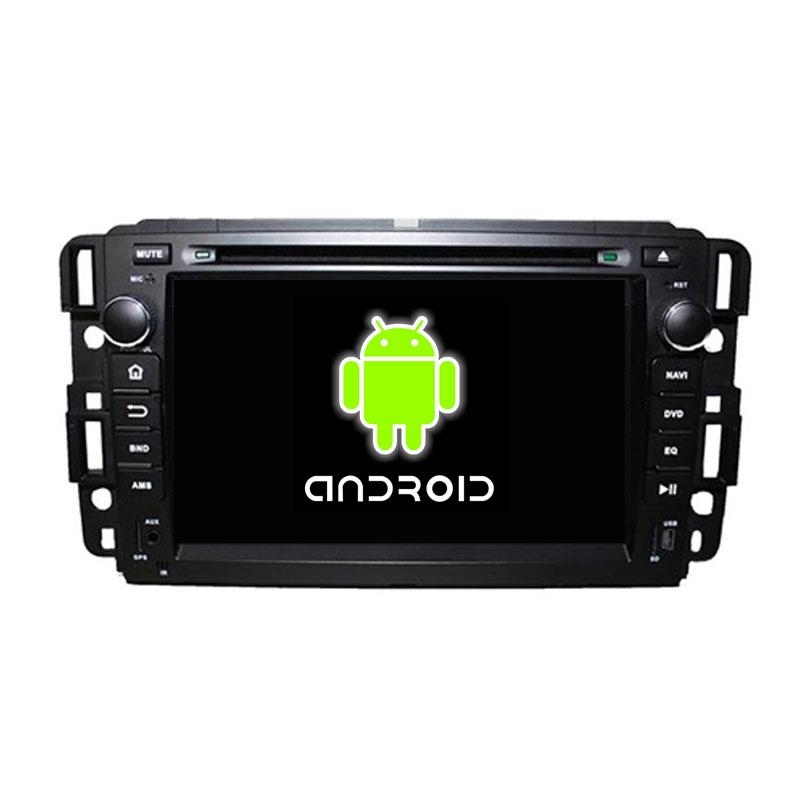 ROM 16G Quad Core 1024*600 Android 5.1.1 Fit GMC Yukon Tahoe 2007 2008 2009 2010 2011 2012 Car DVD Player Navigation GPS Radiol(China (Mainland))