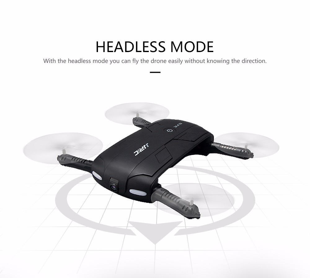 JJRC H37 Altitude Hold with HD Camera Selfie Elfie Foldable FPV Image Transmission Mini RC Quadcopter Drone WiFi Phone Control