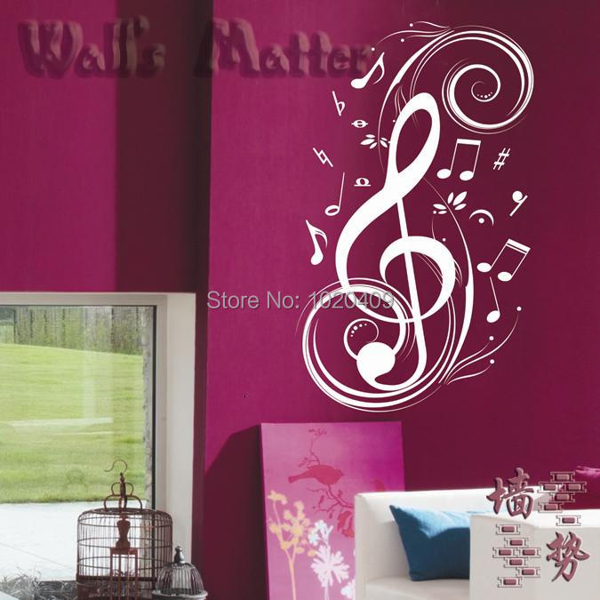 Achetez en gros musical note caract re en ligne des for Decoration murale note de musique