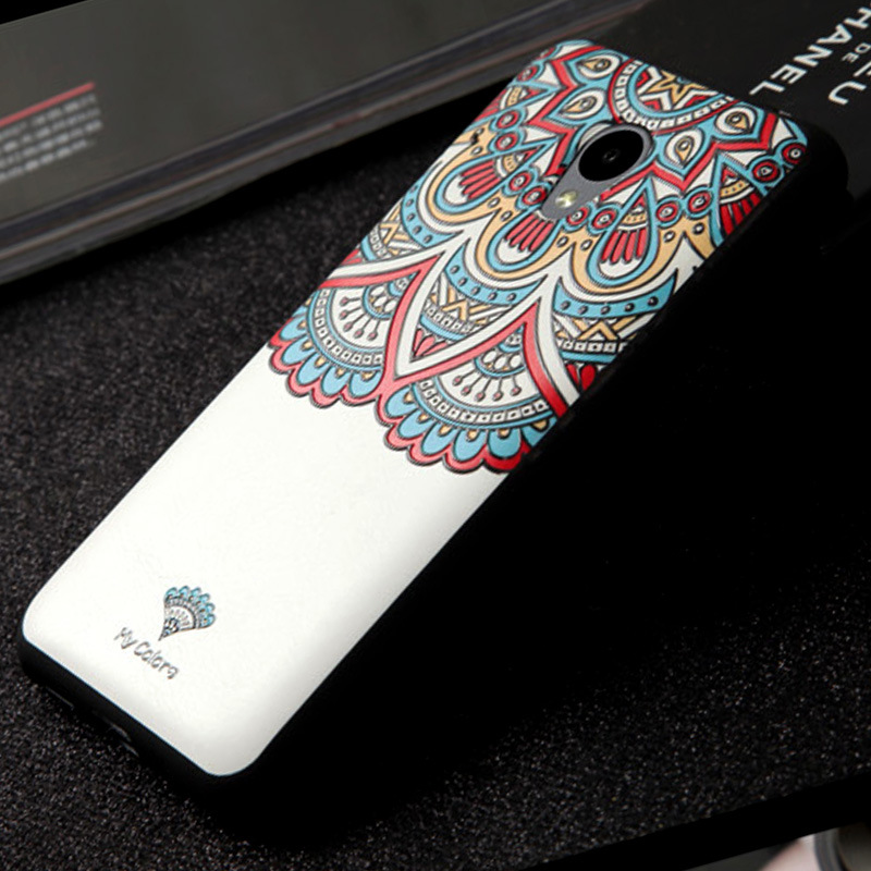 Meizu M2 Mini Case Cover, Colored Paiting 3d stereo relief ideas Case Cover FOR Meizu M2 Mini 18 Types In Stock Free Shipping(China (Mainland))