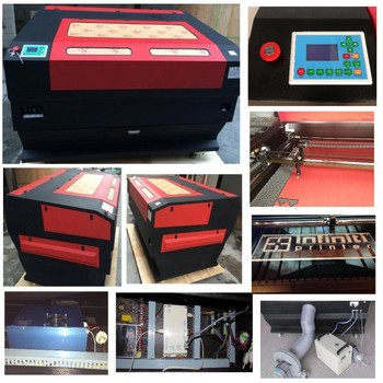 Guangzhou Ruidi Laser Manufacturer Hot Model RD 1390 (1300X900MM) CO2 Laser Cutting Machine