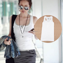 Sexy Women's Button Tank Top Casual Cami Sleeveless Vest Waistcoat Bodycon T-Shirt One Size 8 Colors Free Shipping(China (Mainland))