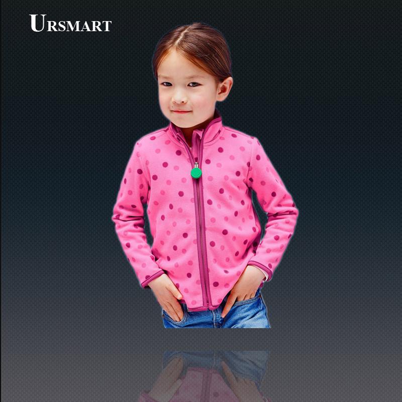 2015 Dot print Girls Hoodies Polar Fleece Girls Hoodies Kids Jacket kids hoodies Hoody for Girls Coat childrens clothing<br><br>Aliexpress