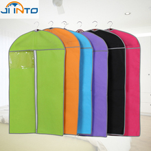 Thicken Non-woven Clothes dust cover Moisture Proof Organization Storage Bag dust bags Clothes Protector Case(China (Mainland))