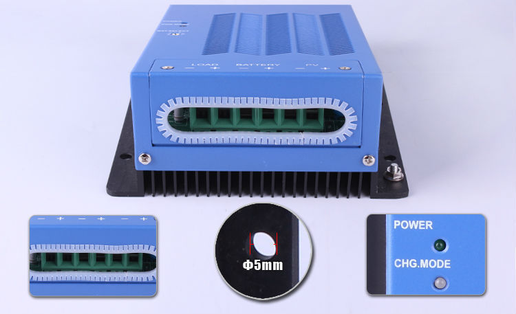 Manufacture price 2015 hot sale mppt solar charge controller 40a 48v For Sloar System(China (Mainland))