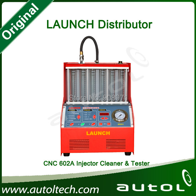 Maintenance and Cleaning Machine 100% Original LAUNCH CNC602A Injector Cleaner and Tester(China (Mainland))