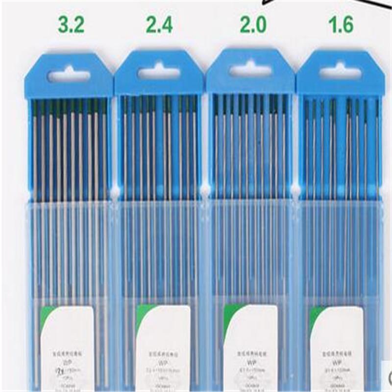 Bleu pointe WT20 2% 1.6 * 150 mm thorium tig électrode en tungstène pour tig torche de soudage 10 pcs(China (Mainland))
