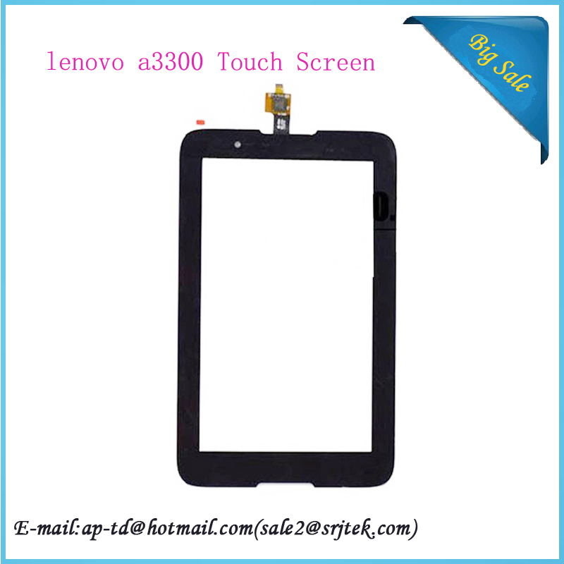 New Original  7 Inch For lenovo A3300 Black Touch Screen Digitizer Replacement  Capacitive Screen Tablet PC+Tools