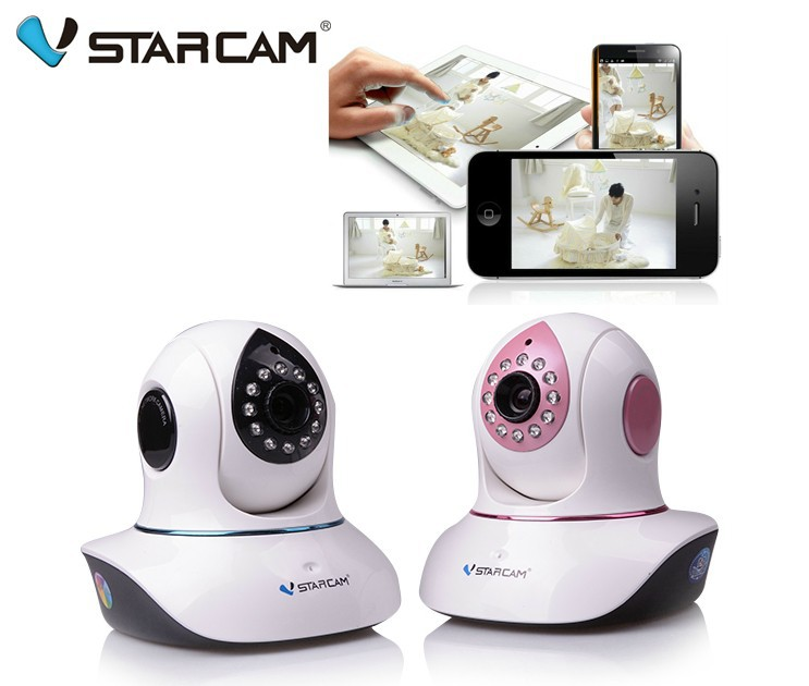 audio wireless control baby electronic monitor video wi fi night vision ip camera voice for. Black Bedroom Furniture Sets. Home Design Ideas