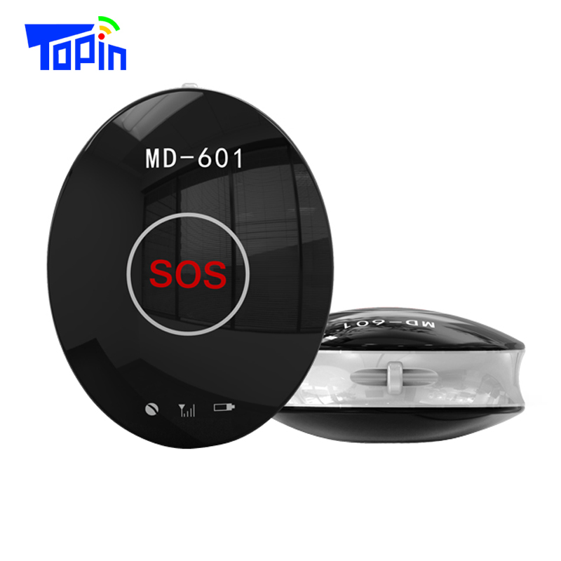 Topin MD601 Portable Mini GPS Tracker Locator GSM GPS AGPS LBS Collar SOS Free Platform APP for Children Pets Bike Car Tracking(China (Mainland))