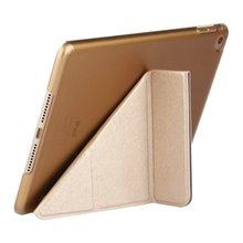 Case for iPad Mini 1/2/3 Mini 4 PU Color Ultra Slim Light weight Transparent PC Back Smart Cover Case for iPad Mini(China (Mainland))