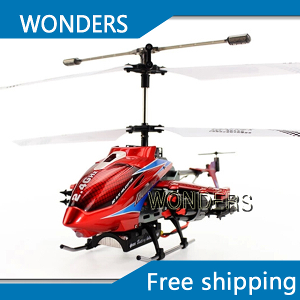 Remote control  DFD F187 3.5CH 2.4G  50cm RC Avator Helicopter with launch missile/classic electronic  toys without original box<br><br>Aliexpress