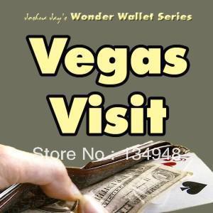 Joshua Jay - Wonder Wallet - Vegas Visit ,magic ,close-up magic(China (Mainland))