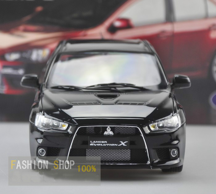 1:18 Die cast Model Car Toy For Mitsubishi Lancer EVO Evolution X Alloy Scale Model Toys Gift Display Collection(China (Mainland))