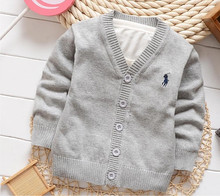 7 color sweat kids good quality boys and girls cardigan sweater coat sueter infantil Boys Sweaters