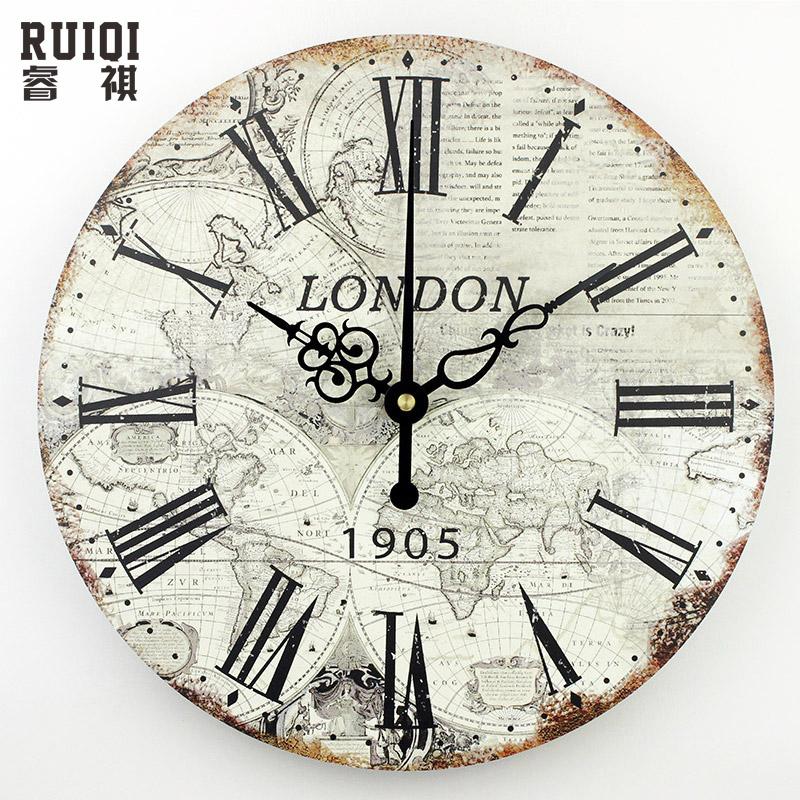 Achetez en gros grande horloge murale en ligne des for Grande horloge murale moderne