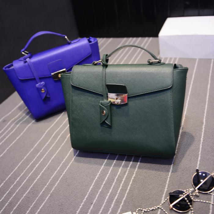 0035 toothpick bagsToothpick marks satchel 2015 new handbag fashion handbag shoulder bag simple small bag(China (Mainland))