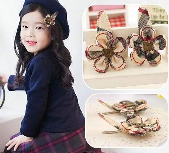 British style gift children kid baby girls hair accessories clip hairpins barrettes headwear bow Retail Boutique wholesale JB-89(China (Mainland))